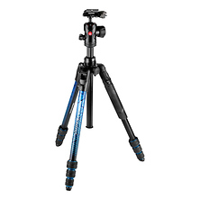 Befree Advanced Travel Al Tripod with Ball Head (Twist Locks, Blue) Image 0
