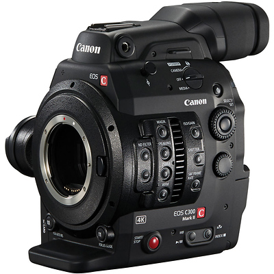 Cinema EOS C300 Mark II Zacuto ENG Package (EF Mount) Image 0