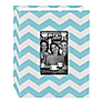 Photo Albums Cloth Album with Frame (Chevron, Aqua)