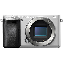 Alpha a6300 Mirrorless Digital Camera Body (Silver) Image 0