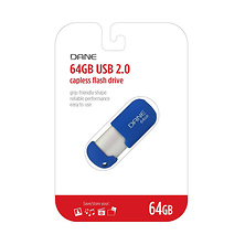 64GB USB Flash Drive (Blue) Image 0