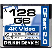128GB Cinema CFast 2.0 Memory Card Image 0