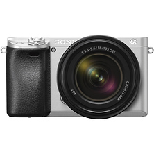 Alpha a6300 Mirrorless Digital Camera with 18-135mm Lens (Silver) Image 0