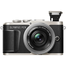 PEN E-PL9 Mirrorless Micro Four Thirds Digital Camera with 14-42mm Lens (Black) Image 0