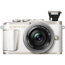 PEN E-PL9 Mirrorless Micro Four Thirds Digital Camera with 14-42mm Lens (White) Image 0