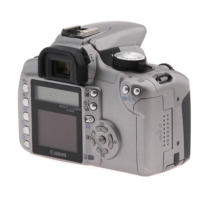 Canon | EOS Digital Rebel XT w/ 18-55mm EF-S Lens - Silver