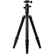 RoadTrip Classic Leather Edition Tripod (Carbon Fiber, Black with Black Leather) Image 0