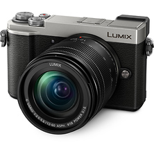 Lumix DC-GX9 Mirrorless Micro Four Thirds Digital Camera with 12-60mm Lens (Silver) Image 0