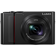 Lumix DC-ZS200 Digital Camera (Black) Image 0
