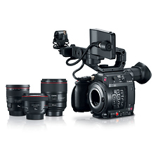 EOS C200 EF Cinema Camera Prime Lens Bundle Image 0