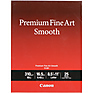 8.5 x 11 in. Premium Fine Art Smooth Paper (25 Sheets)
