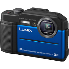 Lumix DC-TS7 Digital Camera (Blue) Image 0