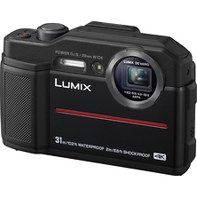 Lumix DC-TS7 Digital Camera (Black) Image 0