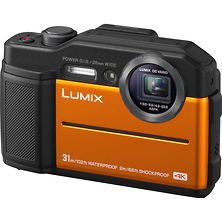 Lumix DC-TS7 Digital Camera (Orange) Image 0