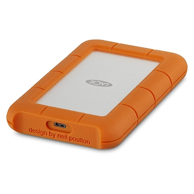 1TB Rugged USB 3.1 Gen 1 Type-C External Hard Drive Image 0
