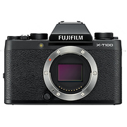 X-T100 Mirrorless Digital Camera Body (Black)