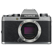 X-T100 Mirrorless Digital Camera Body (Dark Silver)