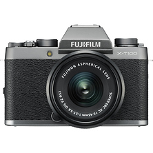X-T100 Mirrorless Digital Camera with 15-45mm Lens (Dark Silver) Image 0