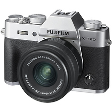 X-T20 Mirrorless Digital Camera with 15-45mm Lens (Silver) Image 0