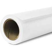 Widetone Seamless Background Paper (#1 Super White, 86 in. x 36 ft.)