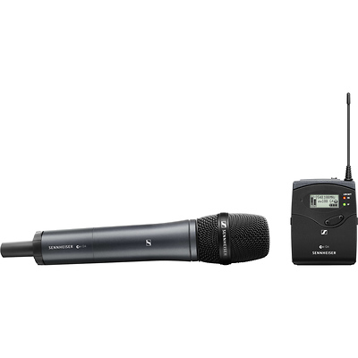 ew 135P G4 Camera-Mount Wireless Microphone System with 835 Handheld Mic A: (516 to 558 MHz) Image 0