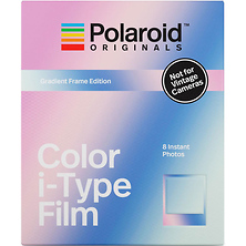 Color i-Type Instant Film (8 Exposures, Gradient Frame Edition) Image 0