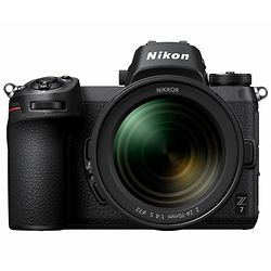 Nikon Z7 FX-format Mirrorless Full Frame Digital Camera Body with NIKKOR Z 24-70mm f/4 S Image