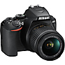 D3500 Digital SLR Camera with 18-55mm and 70-300mm Lenses (Black) Thumbnail 2