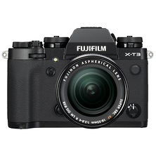 X-T3 Mirrorless Digital Camera with 18-55mm Lens (Black) Image 0