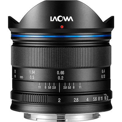 Laowa 7.5mm f/2 MFT Lens for Micro Four Thirds (Black) Image 0