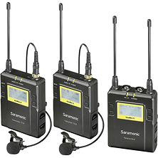 UWMIC9 RX9 + TX9 + TX9, 96-Channel Digital UHF Wireless Dual Lavalier Mic System (514 to 596 MHz) Image 0