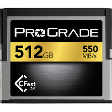512GB CFast 2.0 Memory Card Image 0