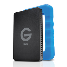 500GB G-DRIVE ev RaW USB 3.1 Gen 1 SSD with Rugged Bumper Image 0