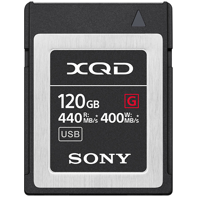 120GB G Series XQD Memory Card Image 0