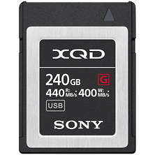 240GB G Series XQD Memory Card Image 0