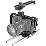 Camera Cage with 15mm Rod System for Blackmagic Pocket Cinema 4K