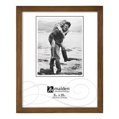 8 x 10 in. Concepts Wood Picture Frame (Chestnut) Image 0