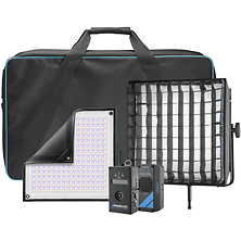 Flex Cine DMX RGBW LED Mat Single Light Fixture Kit (1 x 1 ft.) Image 0
