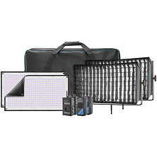 Flex Cine DMX RGBW LED Mat Two-Light Fixture Kit (1 x 2 ft.) Image 0