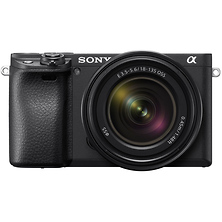 Alpha a6400 Mirrorless Digital Camera with 18-135mm Lens (Black) Image 0