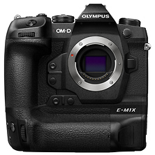 OM-D E-M1X Mirrorless Micro Four Thirds Digital Camera Body (Black) Image 0