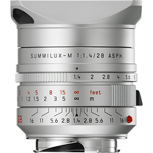 Summilux-M 28mm f/1.4 ASPH. Lens (Silver Anodized) Image 0