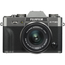 X-T30 Mirrorless Digital Camera with 15-45mm Lens (Charcoal Silver) Image 0