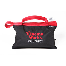 Cinema Works 25 lb Shot Bag (Black with Red Handle) Image 0