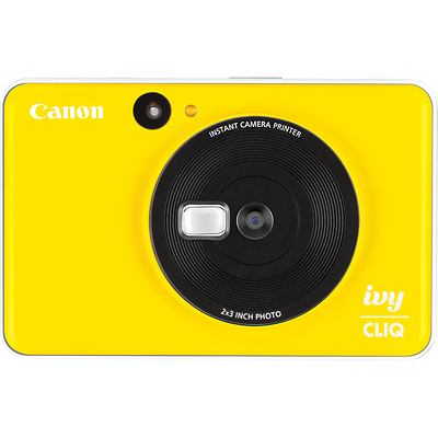 IVY CLIQ Instant Camera Printer (Bumblebee Yellow) Image 0