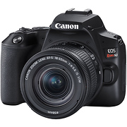 EOS Rebel SL3 Digital SLR with EF-S 18-55mm f/4-5.6 IS STM Lens (Black)