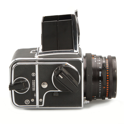 Hasselblad 500CM Chrome Medium Format Camera with 80mm Lens and A12 Back -  Used