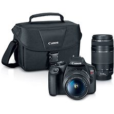 EOS Rebel T7 Digital SLR Camera with 18-55mm and 75-300mm Lenses Image 0