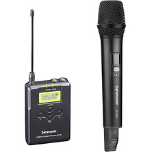 UwMic15A Camera-Mount Wireless Handheld Microphone System (555 to 579 MHz) Image 0