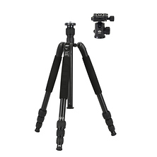 T-1004SK T-S Aluminum Travel Tripod with E-10 Ball Head Image 0